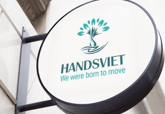 JETART Đã hoàn thành và bàn giao Logo cho Đơn vị HANDSVIET.