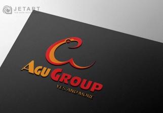 JETART Đã hoàn thành và bàn giao Logo và Name Card cho Đơn vị AGU GROUP.