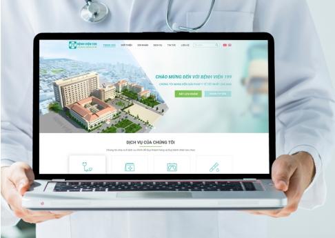 Website Bệnh viện 199