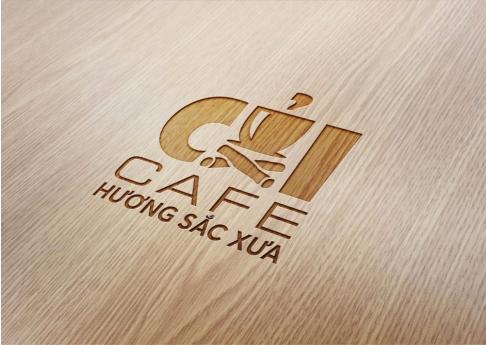 Logo Cafe Củi