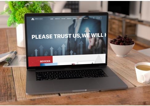 Webiste đầu tư - tư vấn Mirai Asia