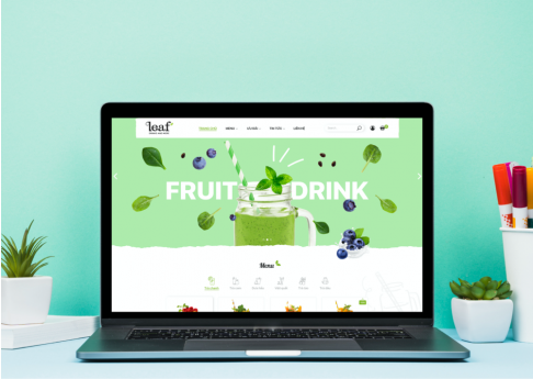 Website Fruit Leaf